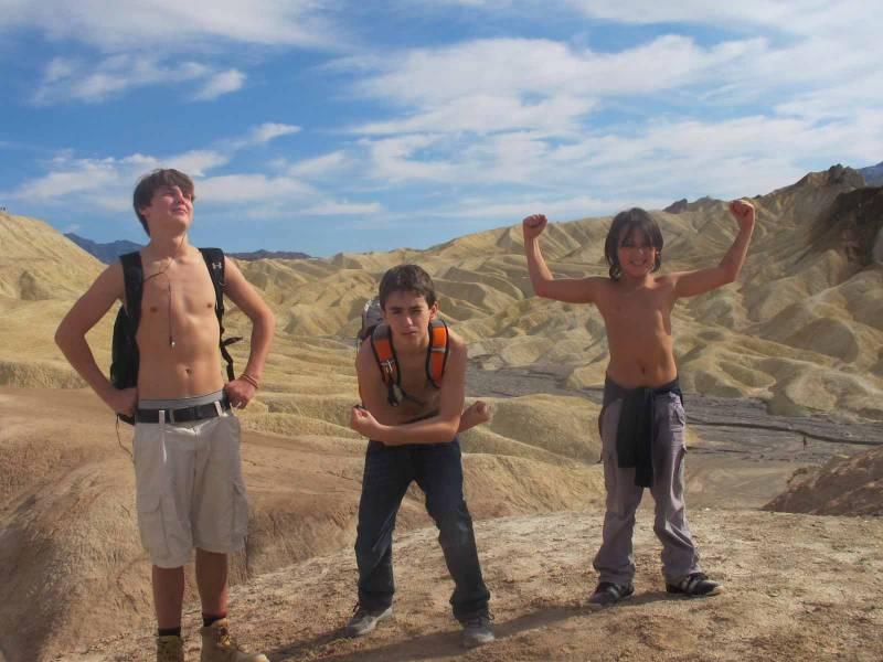 Путешествие в Долину Смерти с подростками, 23-28 Ноября, 2011